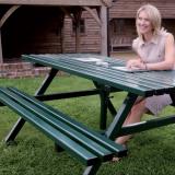 Anti-Vandal Picnic Table