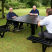 Steel Wheelchair Accessible Picnic Table