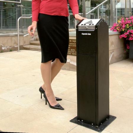 Tabstand Floor Mountable Pedestal Ashtray