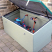 980 Litre Glass Fibre Composite Garden Storage Units