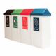 Swing-Cycle Office Recycling Bin