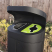 Torpedo Double External Recycling Bin With Hood - 120 Litre
