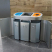 Torpedo Triple Internal Recycling Bin - 162 Litre