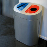 Torpedo Double Recycling Station - 120 Litre