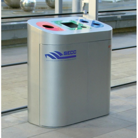 Torpedo Triple XL Internal Recycling Bin - 270 Litre