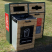 Double Timber Fronted Recycling Unit - 196 Litre